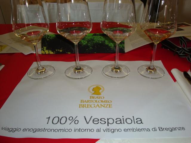 degustazione 100% Vespaiola