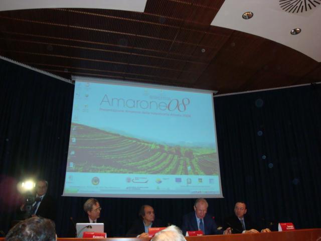 conferenza stampa Amarone 2008