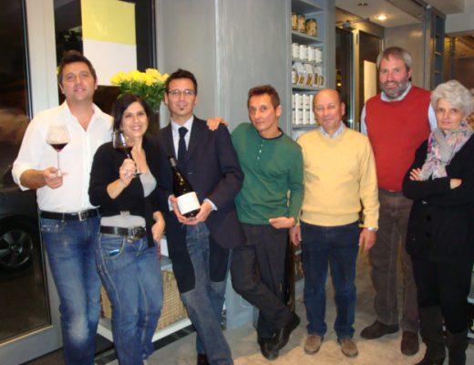 Marina Salada e il suo staff,Maurizo Arduini,G.Bettella e I.Cresson