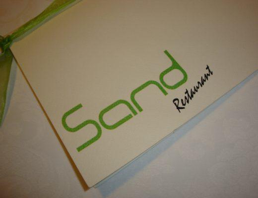 menù Sand