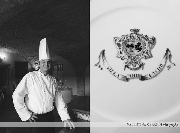 lo chef e patron Alessandro Cappotto
