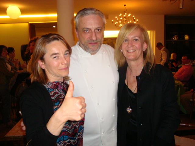 Rosaria,Davide Scabin e Isabella