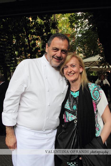 Gianfranco Vissani e Isabella