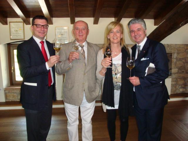 Nicola Bonera,Alessandro Bianchi,Isabella e Alessandro Scorsone