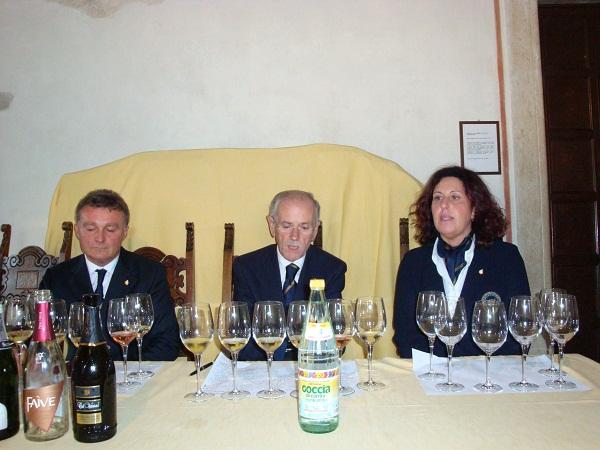 Roberto Gardini, Dino Marchi e Roberta Moresco