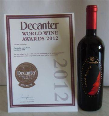medaglia di bronzo di Decanter World Wine