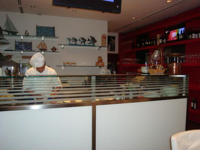 cucina a vista Kalumet