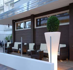 esterno Hotel Atmosfere