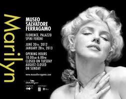 mostra Marilyn al Museo Ferragamo