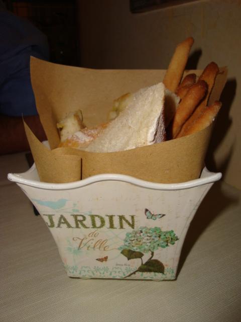 cestino del pane Osteria Giosano