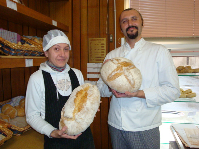 Christian Chiapparoli e la compagna Michela