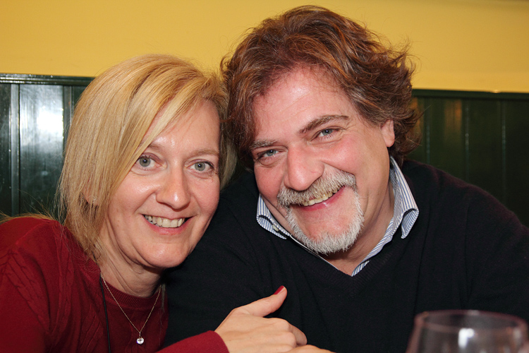 Isabella Radaelli e Stefano Fagioli