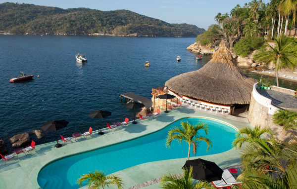 swimming pool Boca Chica Hotel