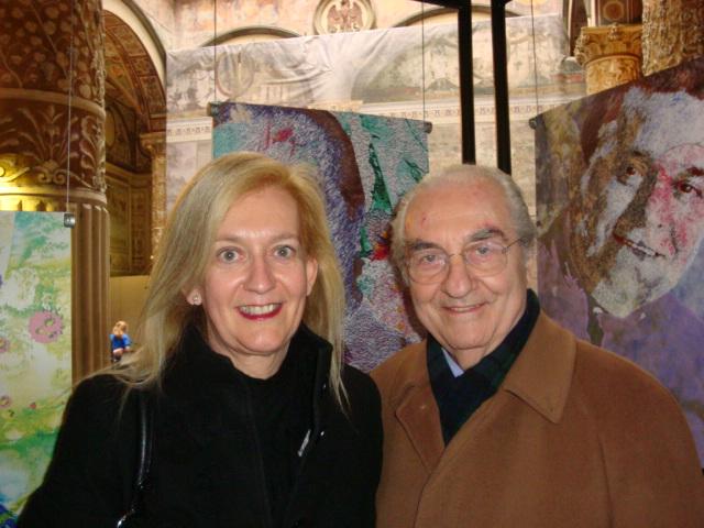 Isabella Radaelli e Gualtiero Marchesi