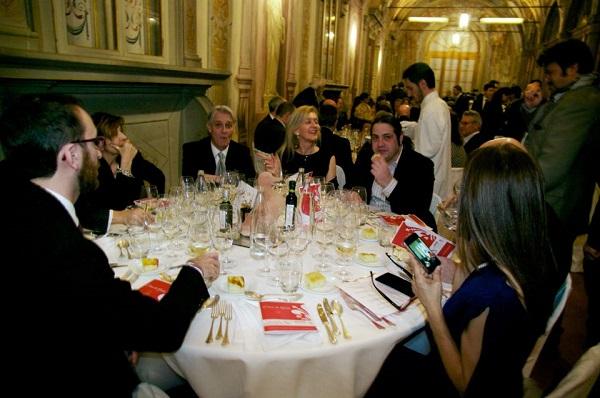 cena di gala Villa Corsini