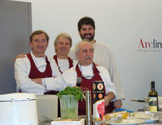Edgardo Volpi,Sergio Brambini,Antonio Bonetti e Nadir Benzi