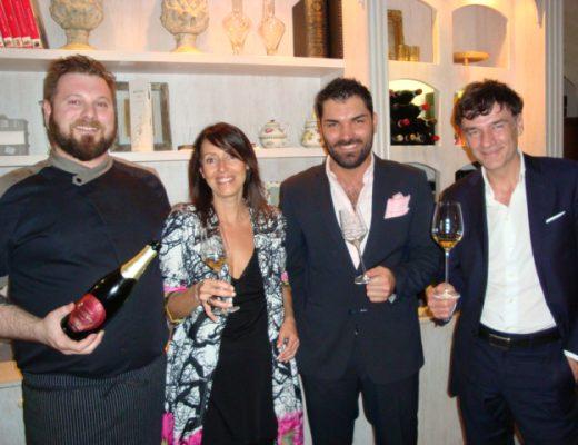 Matteo Torretta,Flo Guyit,Alberto Tasinato e Claudio Ciccotti