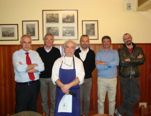 Antonio Bonetti, Claudio Rambelli e i produttori di pane, formaggio e vino