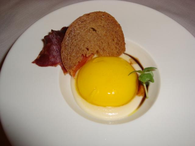 Uovo di parmigiano reggiano