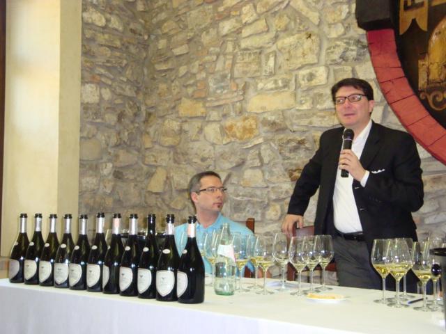 Dennis Metz, Nicola Bonera e le 10 bottiglie di Satèn degustate