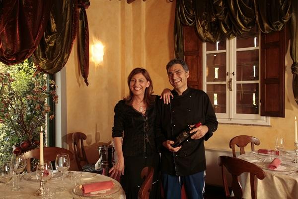 Mariella e Fabrizio del ristorante Butterfly