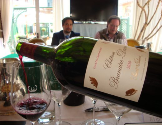 degustazione Chateau Branaire-Ducru a GustoCortina 2013