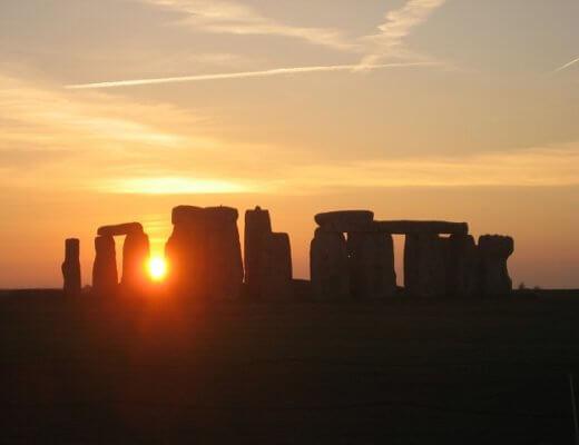 sunset-stonehenge