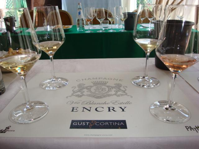 degustazione Champagne Encry a GustoCortina 2013