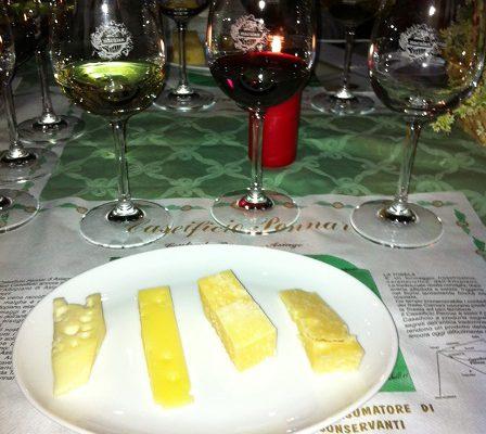 degustazione formaggio Asiago e vini Maculan