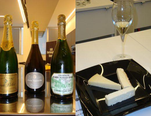 champagne e alti formaggi