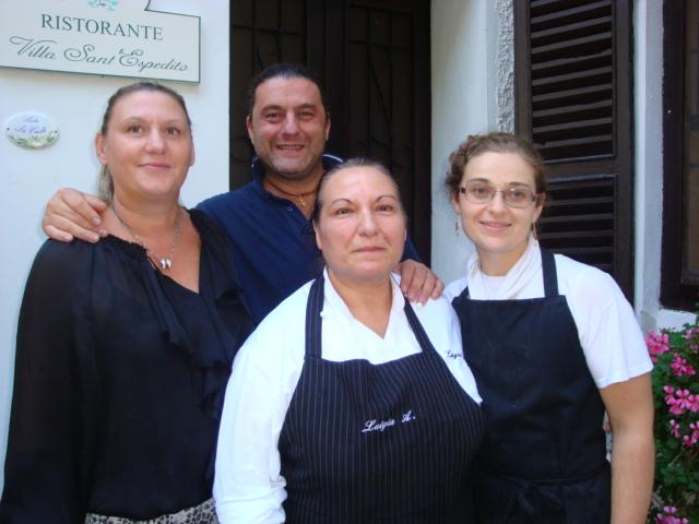 il team di Villa S.Espedito