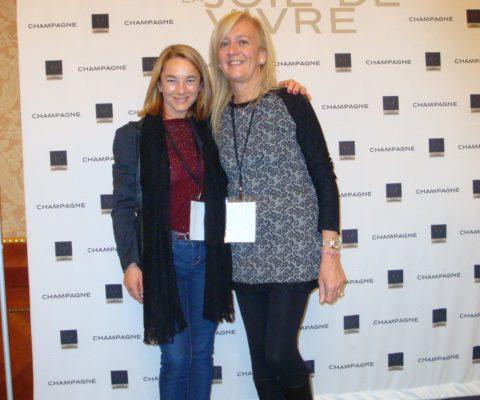 Rosaria Franzelli e Isabella Radaelli alla Giornata Champagne 2013