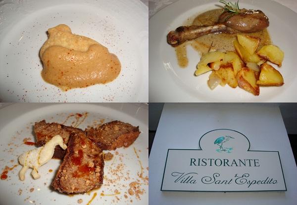 piatti di Villa S.Espedito