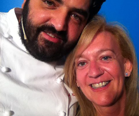 Antonino Cannavacciuolo & Isabella Radaelli