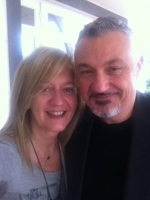 Isabella Radaelli e Stefano Caffarri