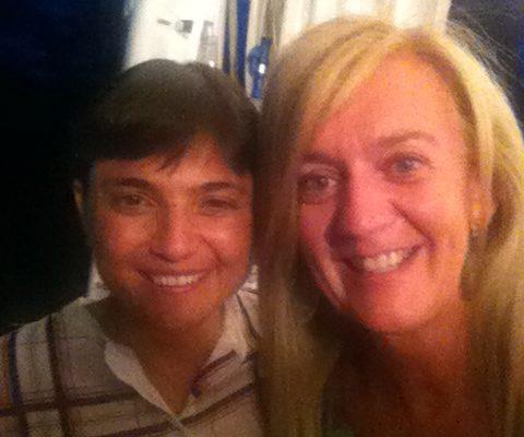 Debora Serracchiani e Isabella Radaelli