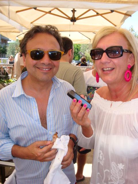 Piero Chiambretti intervistato da Isabella Radaelli