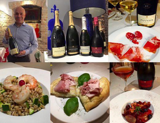Champagne Pannier & sfiziosità all'Emporio Vino e Sapori