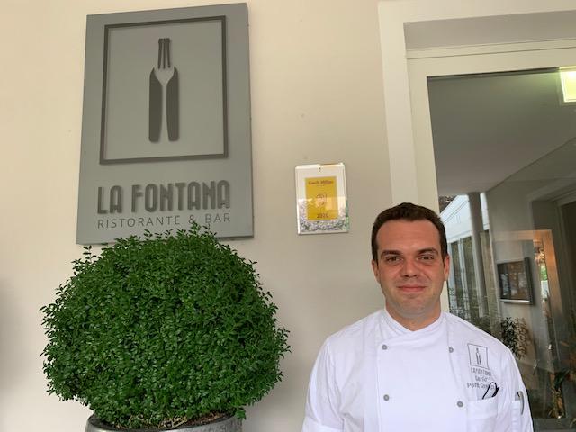 executive chef Carlo Ponti Greppi - photo credit @isabellaradaelli