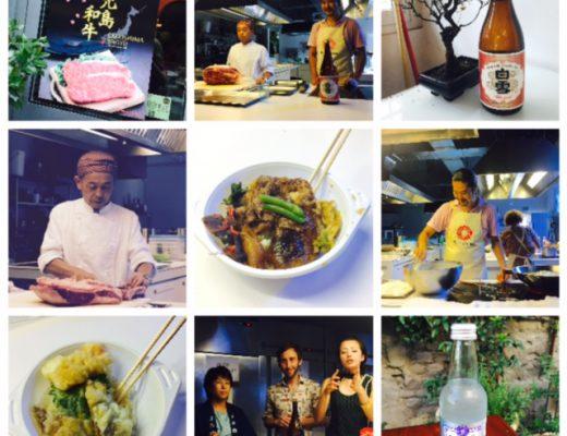 Wagyu & Sake da Food Genius Academy