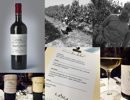 degustazione dei vini Villanoviana a Milano