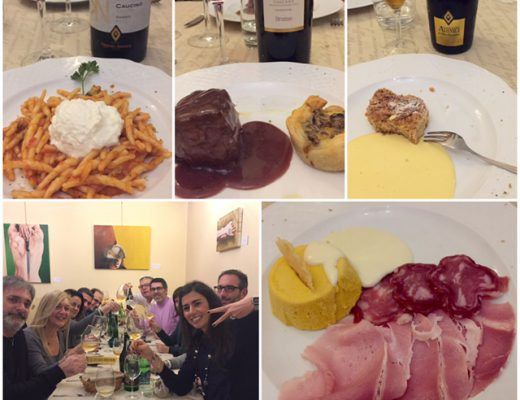 Osteria dell'Angelo e i vini di Arcipelago Muratori