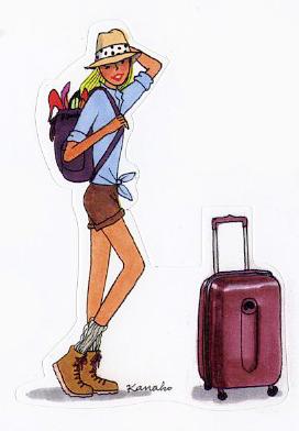 Isabelle en départ
