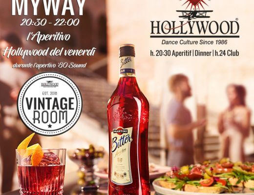 aperitivo pop all'Hollywood
