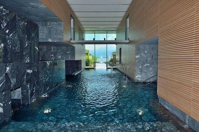 piscina interna di Termali Salini