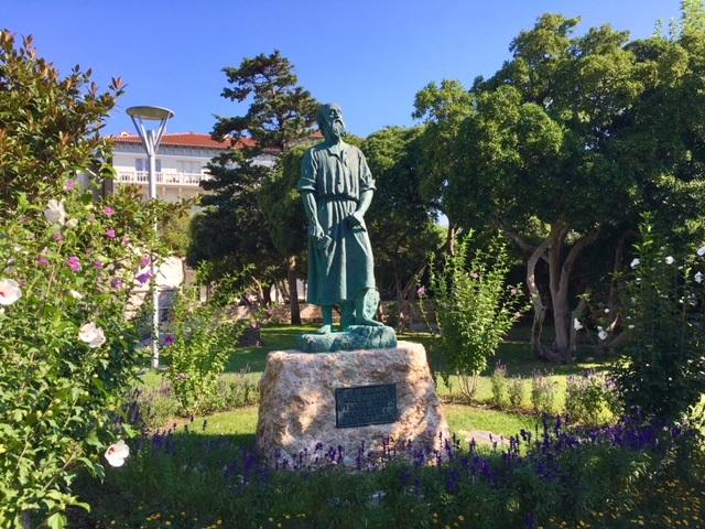 la statua di San Marino a Rabb
