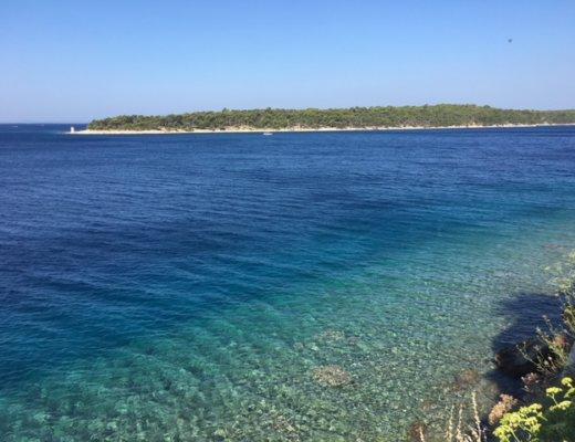 il bellissimo mare di Rab
