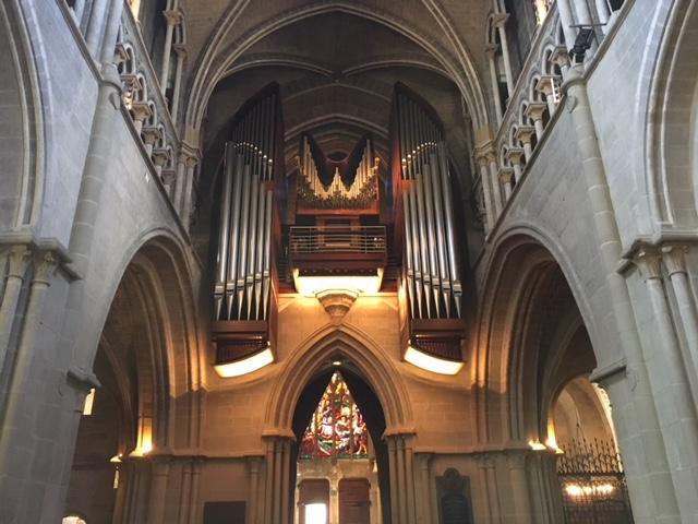 l'organo della Cattedrale disegnato da Giorgetto Giugiaro