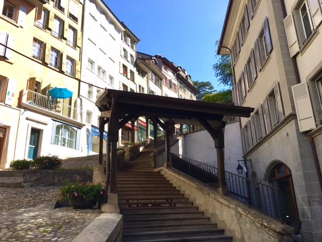 l'Escaliers du Marché