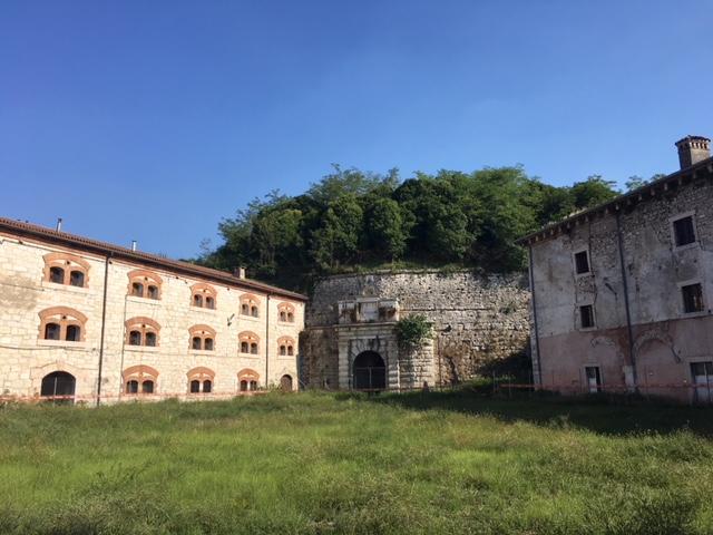 cortile del Carcere Militare